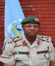 Photo of Gen Boroh in uniform.