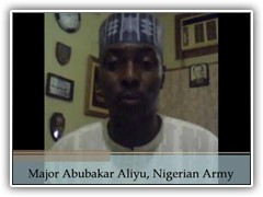 Photo of Major Abubakar Aliyu.