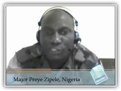 Photo de Major Preye Zipele.
